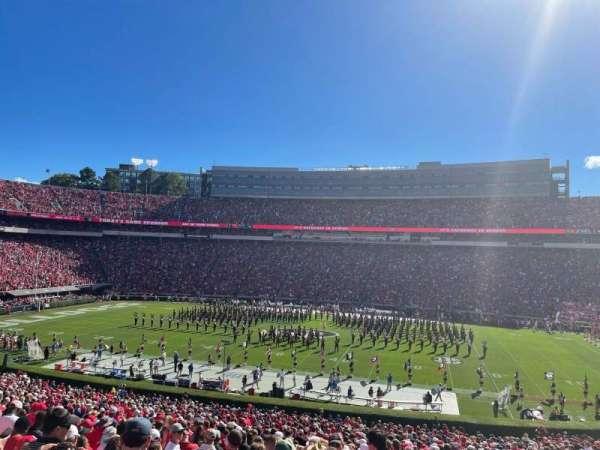 Sanford Stadium, section: 105, row: 49, seat: 27
