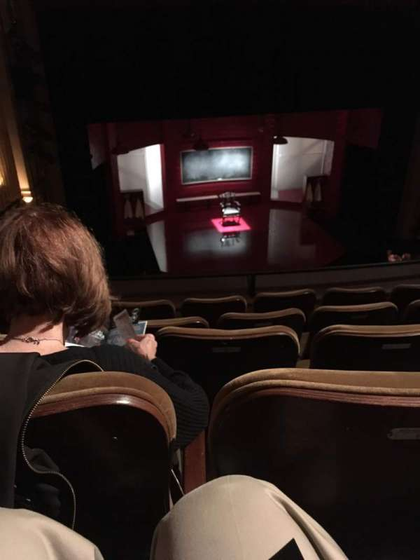 Samuel J. Friedman Theatre, section: Mezzanine C, row: C, seat: 102