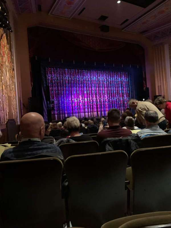 Flynn Center for the Performing Arts, section: Orchestra Left, row: P, seat: 20