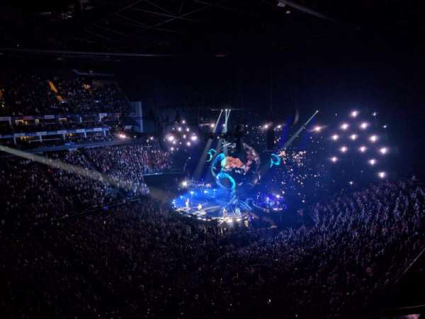 The O2 Arena, section: 419, row: A, seat: 901