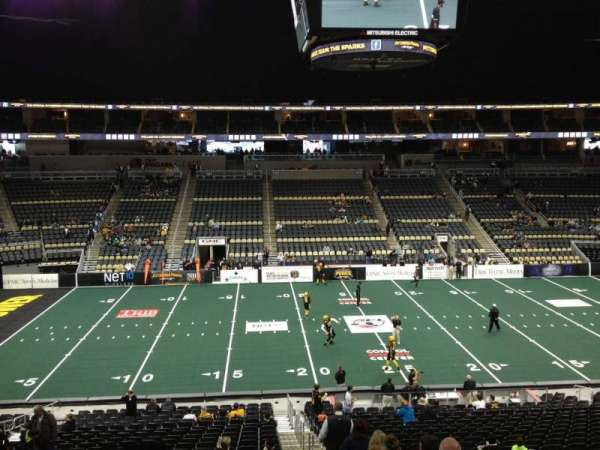 PPG Paints Arena, section: Club 20, row: A, seat: 3