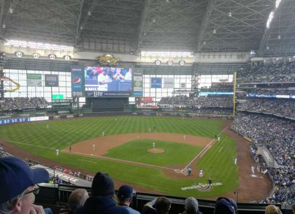 Miller Park, section: 333, row: 5, seat: 5