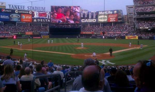 Yankee Stadium, section: 120b, row: 23, seat: 14