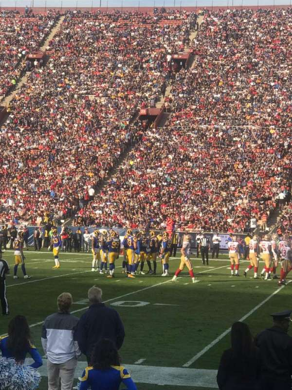Los Angeles Memorial Coliseum, section: 5H, row: 5, seat: 114