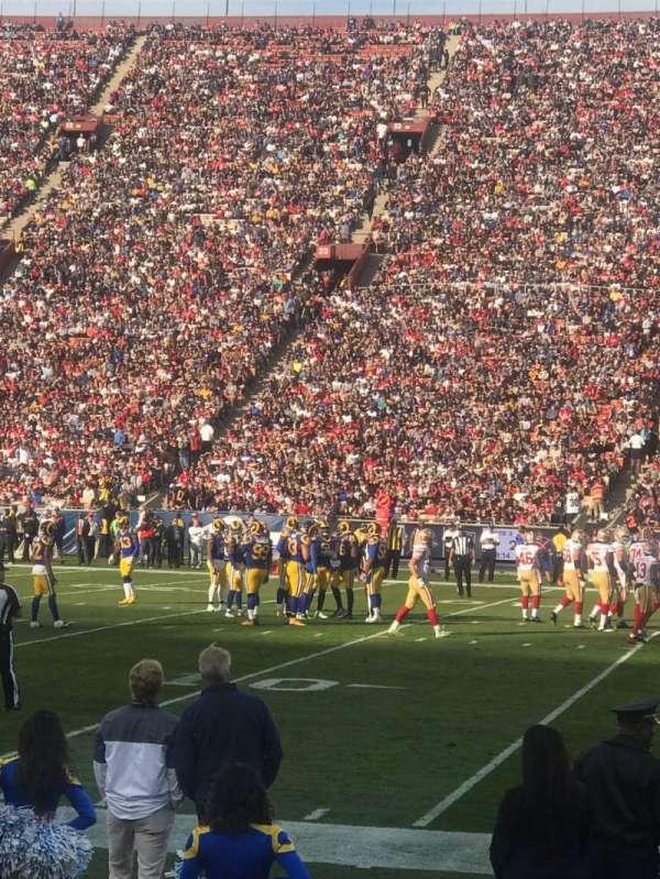 Los Angeles Memorial Coliseum, section: 5H, row: 5, seat: 114
