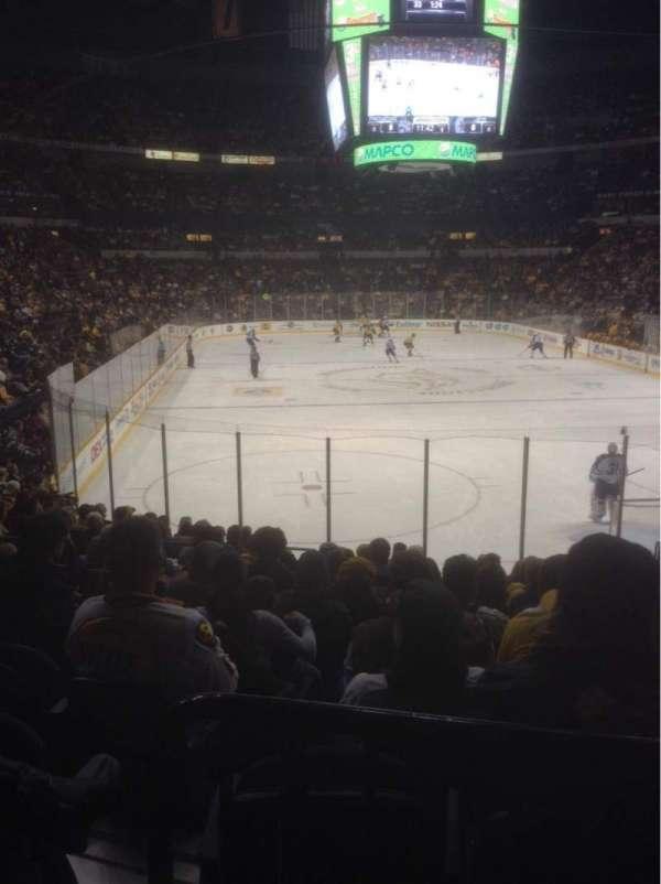 Bridgestone Arena, section: 110, row: D, seat: 9