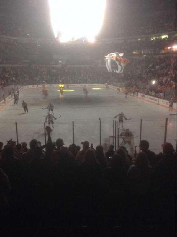 Bridgestone Arena, section: 110, row: C, seat: 9
