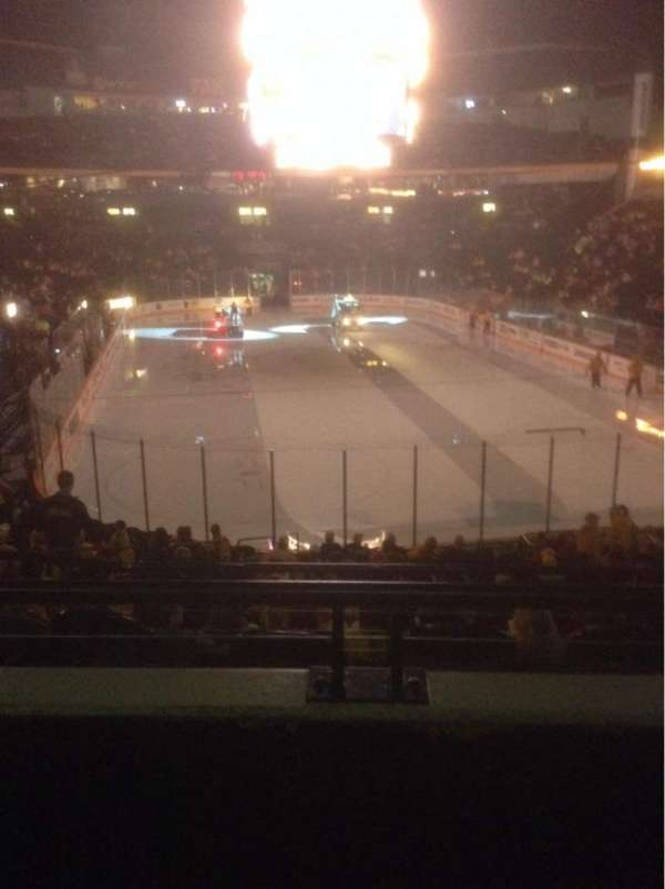 Bridgestone Arena, section: 120, row: J, seat: 11
