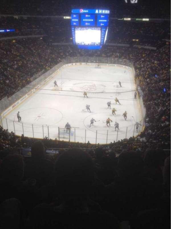Bridgestone Arena, section: 318, row: H, seat: 1