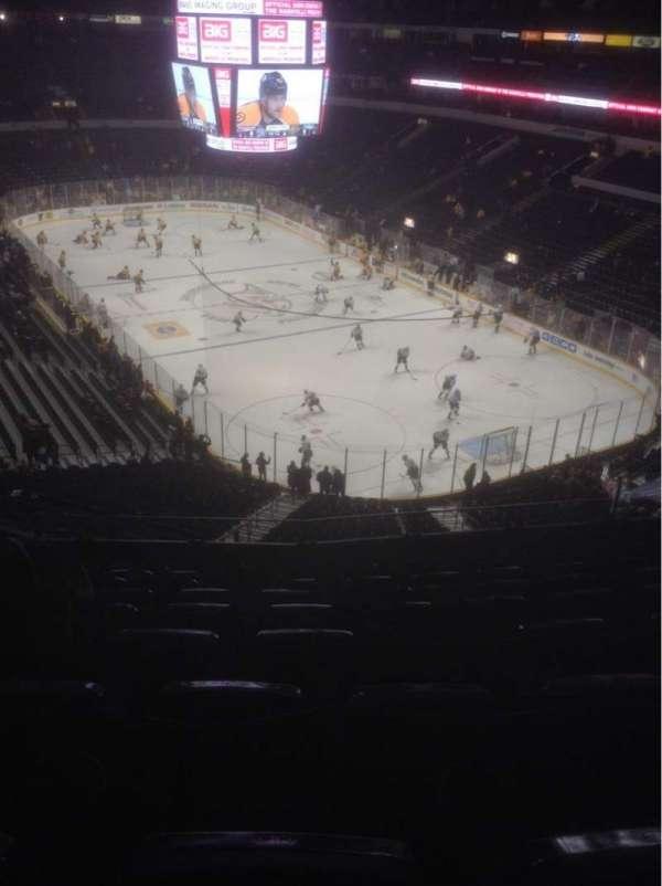 Bridgestone Arena, section: 315, row: K, seat: 11