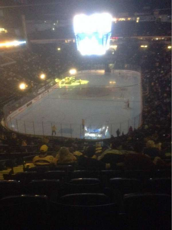 Bridgestone Arena, section: 202, row: K, seat: 13