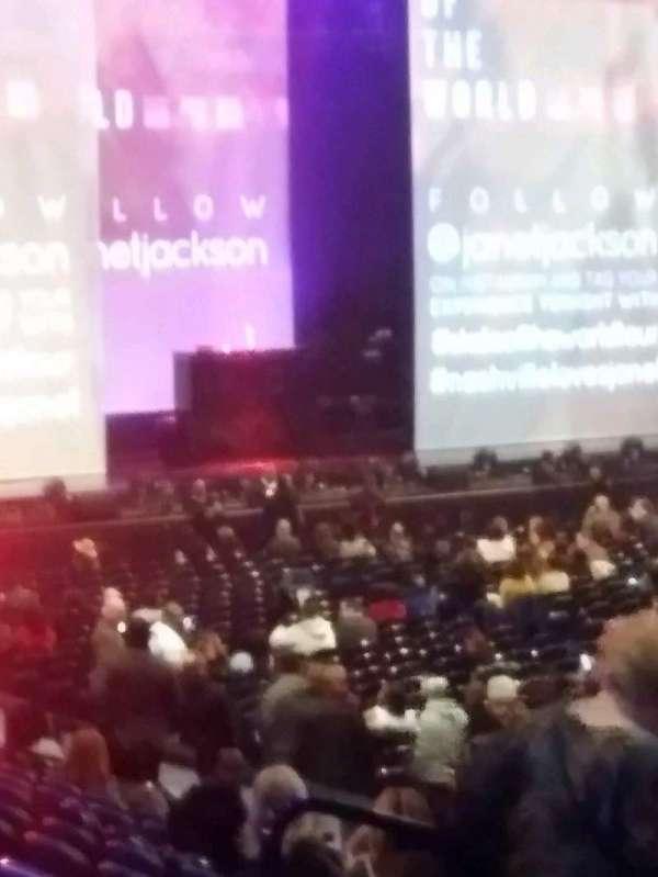 Bridgestone Arena, section: 117, row: B, seat: 11
