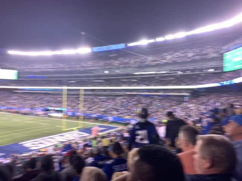 MetLife Stadium, section: 104, row: 38, seat: 16