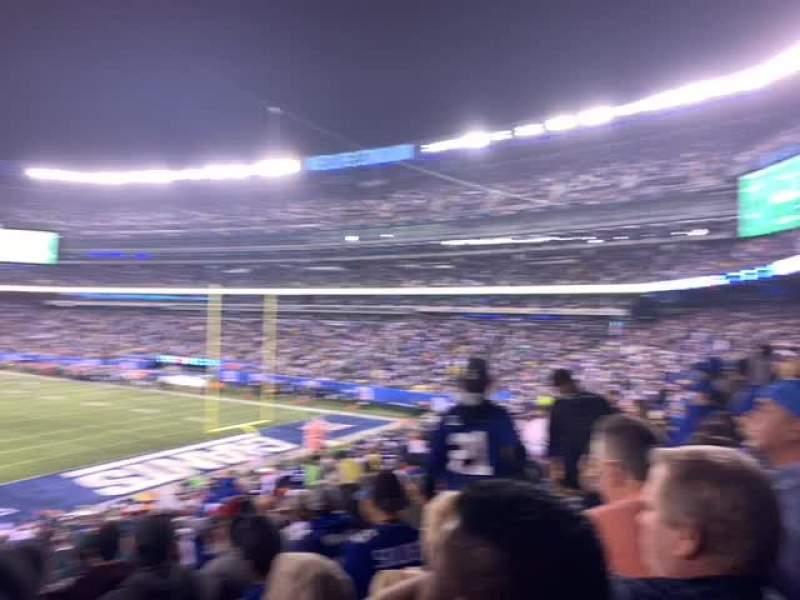 MetLife Stadium, section: 104, row: 38, seat: 16