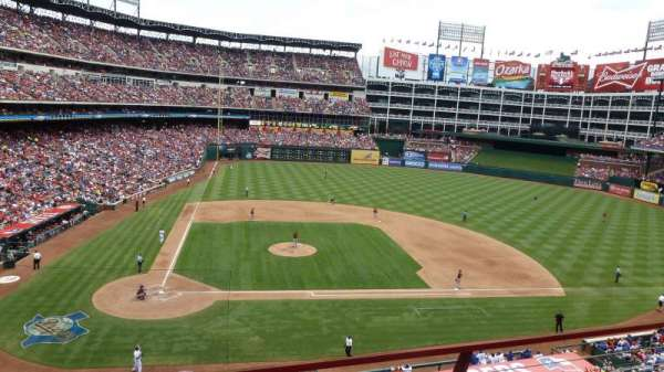 Globe Life Park in Arlington, section: 231, row: 10, seat: 8