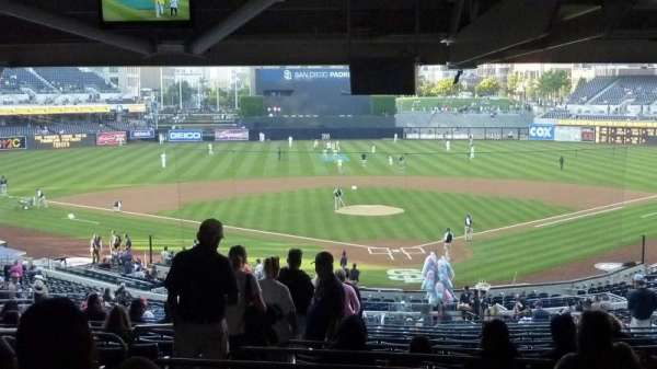 Petco Park, section: F, row: 10, seat: 6