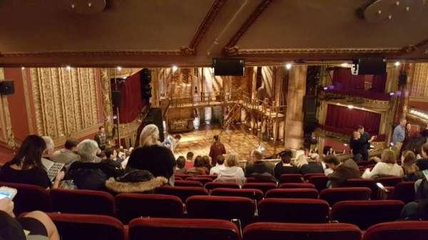 CIBC Theatre, section: Mezzanine L, row: M, seat: 11