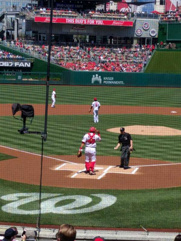Nationals Park, section: 123, row: C, seat: 1