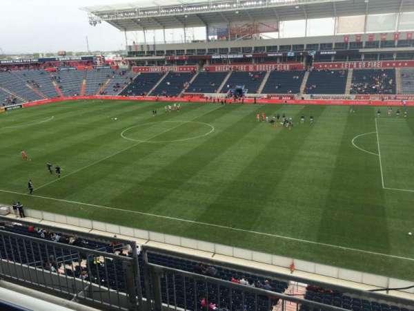 SeatGeek Stadium, section: 205, row: 3, seat: 1