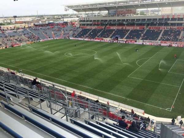SeatGeek Stadium, section: 203, row: 13, seat: 1