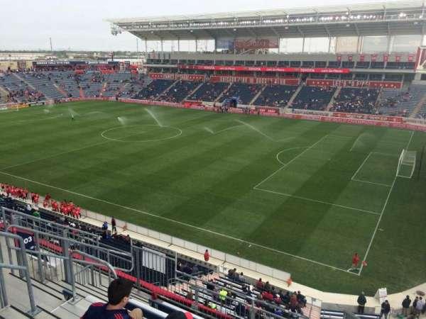 SeatGeek Stadium, section: 203, row: 7, seat: 1