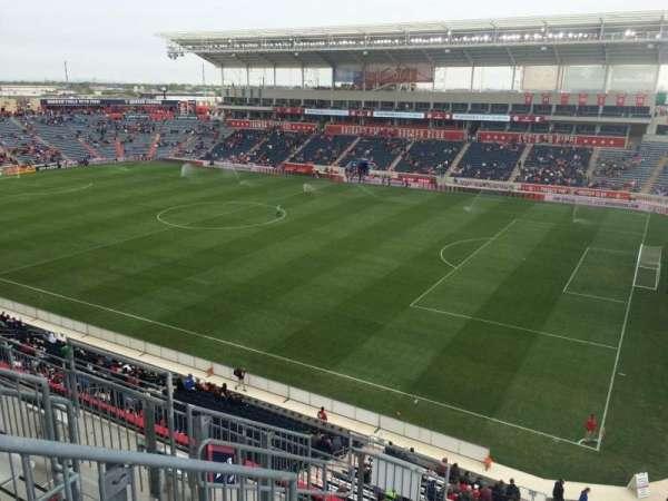 SeatGeek Stadium, section: 203, row: 7, seat: 7