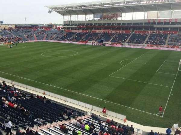 SeatGeek Stadium, section: 203, row: 1, seat: 1