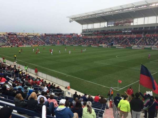 SeatGeek Stadium, section: 102, row: 15, seat: 1
