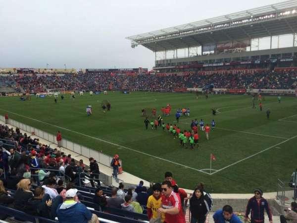 SeatGeek Stadium, section: 101, row: 15, seat: 12