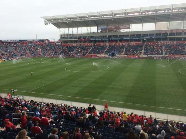 SeatGeek Stadium, section: 105, row: 25, seat: 7