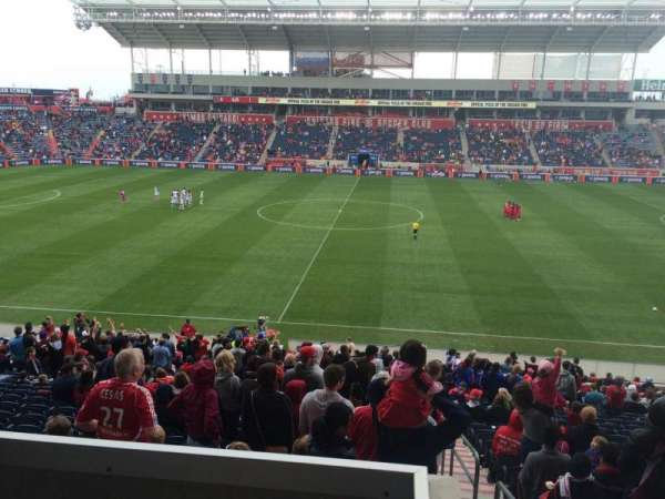 Toyota Park, section: 107, row: 15, seat: 1