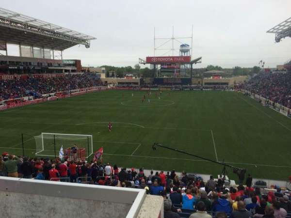 Toyota Park, section: 116, row: 27, seat: 8