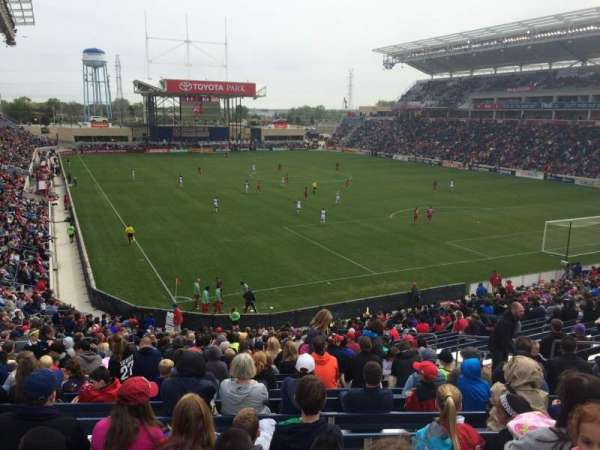 Toyota Park, section: 121, row: 27, seat: 10