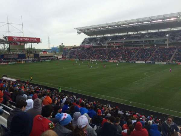 Toyota Park, section: 124, row: 24, seat: 1