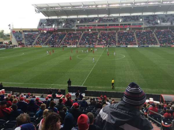 Toyota Park, section: 128, row: 20, seat: 1