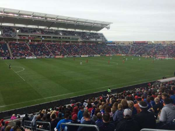 Toyota Park, section: 132, row: 20, seat: 1