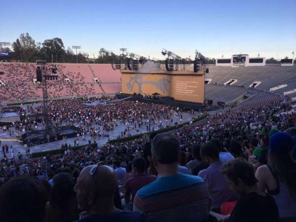 Rose Bowl, section: 16-H, row: 72, seat: 113