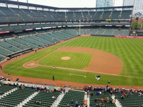 Oriole Park at Camden Yards, section: 320, row: 1, seat: 8
