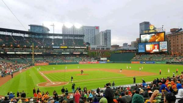 Oriole Park at Camden Yards, section: 30, row: 28, seat: 6