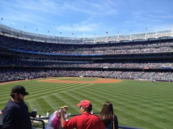 Yankee Stadium, section: 202