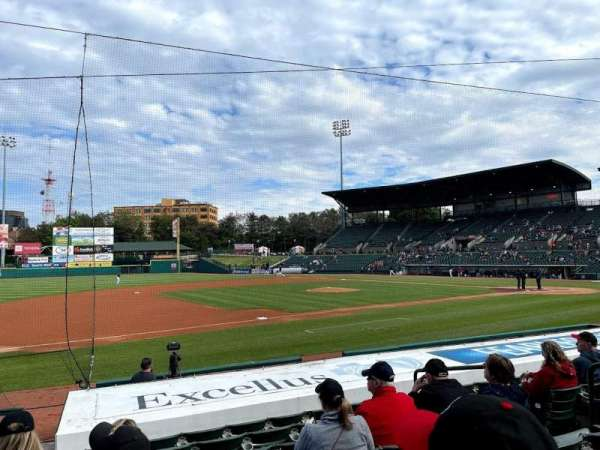 Frontier Field, section: 127, row: M, seat: 7
