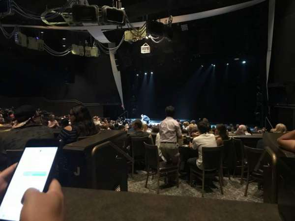 David Copperfield Theatre, section: 2, row: 11K, seat: 2