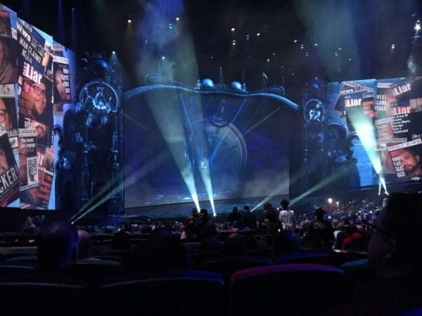 Michael Jackson One Theatre, section: 201, row: GG, seat: 11