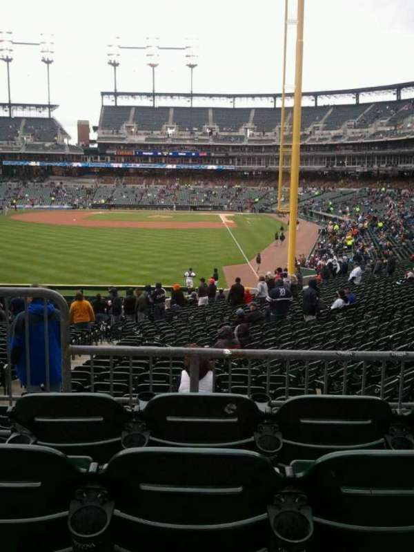 Comerica Park, section: 146, row: DD, seat: 10