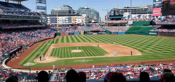 Nationals Park, section: 218, row: e, seat: 19
