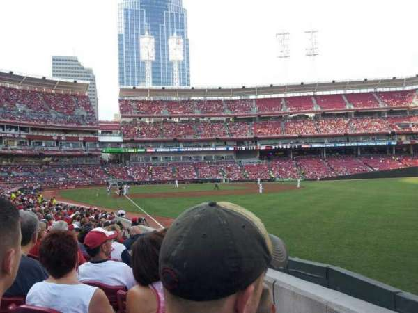 Great American Ball Park, section: 138, row: u, seat: 7
