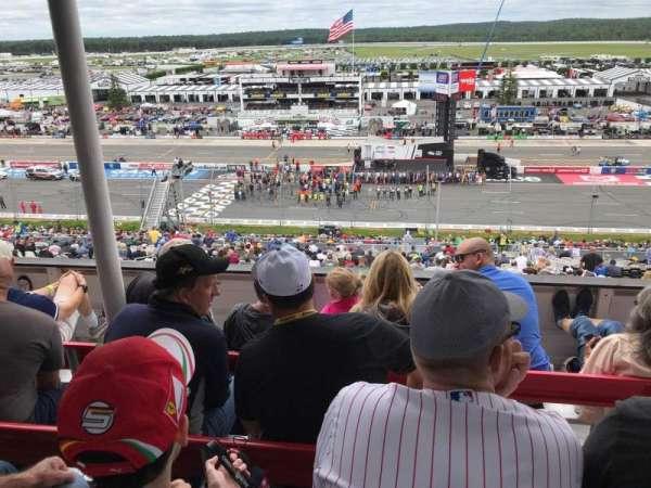 Pocono Raceway, section: 323, row: D, seat: 17