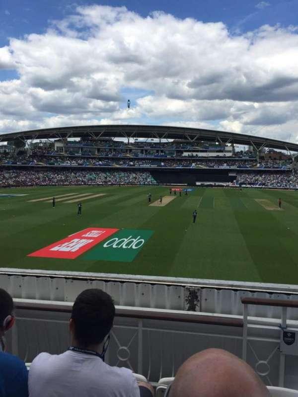 Kia Oval, section: Pavilion Balcony, row: D, seat: 60