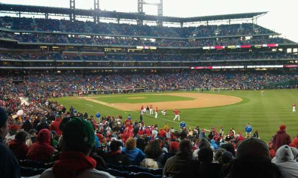Citizens Bank Park, section: 109, row: 36, seat: 10