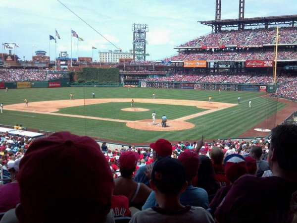 Citizens Bank Park, section: 125, row: 31, seat: 11